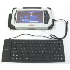 JLT8404 Tablet Flexible USB Keyboard, Water-Resistant
