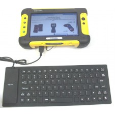 Trimble Yuma Tablet Flexible USB Keyboard, Water-Resistant