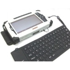 Duros 8404 Tablet Flexible USB Keyboard, Water-Resistant