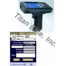 AT870 Barcode Reader PDA and Electrical Meter Reading Software