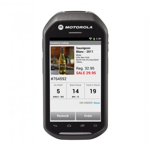 Motorola Mc40 Rugged Mobile Android Pda